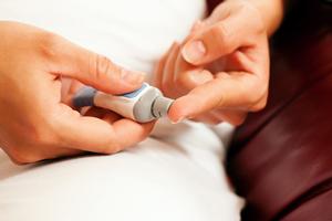 Selbstkontrolle bei Diabetes