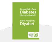 Gesundheitspass Diabetes in türkischer Sprache