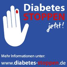 Kampagne Diabetes stoppen