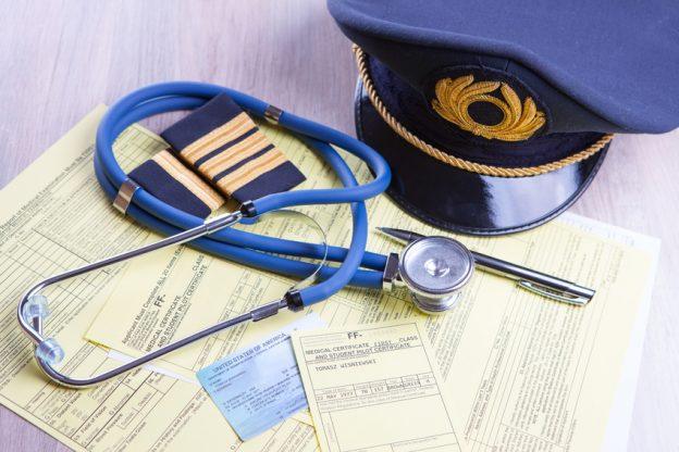 Pilot mit Diabetes
