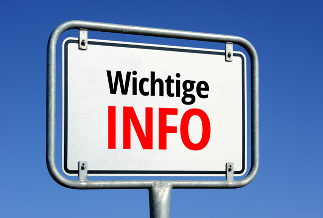 Wichtige Diabetes-Information
