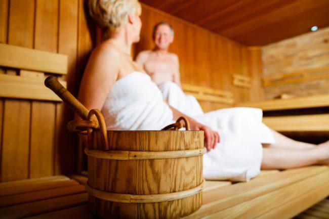 Saunabesuch ach bei Bluthochdruck