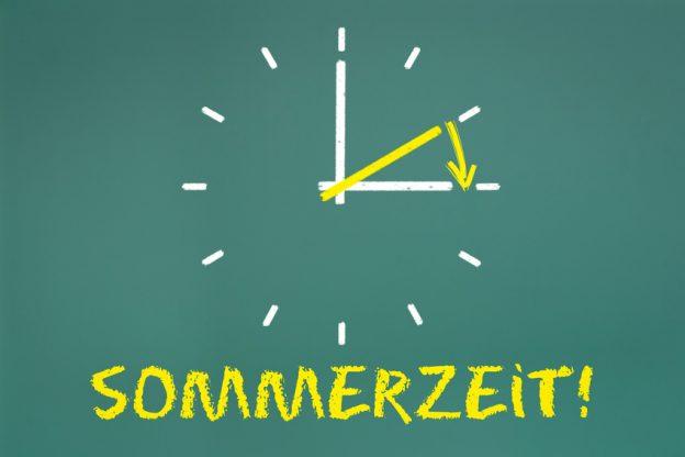 Uhr umstellen auf Sommerzeit