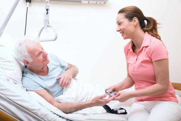 Mit Diabetes im Pflegeheim